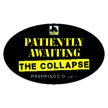 Patiently Awaiting the Collapse Sticker