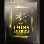 I Miss America Sticker