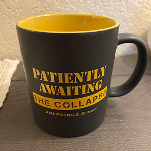 Patiently Awaiting the Collapse Mug